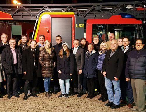 Besichtigung und Austausch mit der Feuerwehr Grevenbroich
