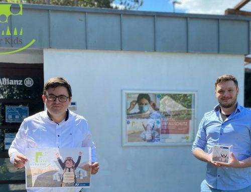 Kreative Spenden-Aktion der JU im Rhein-Kreis Neuss bringt Umwelt- und Kinderschutz in Einklang