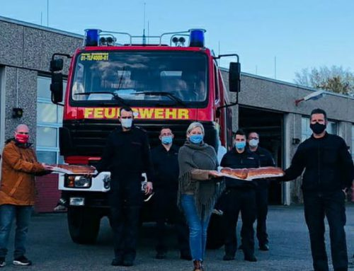CDU Ortsverband Grevenbroich bedankt sich bei der Feuerwehr